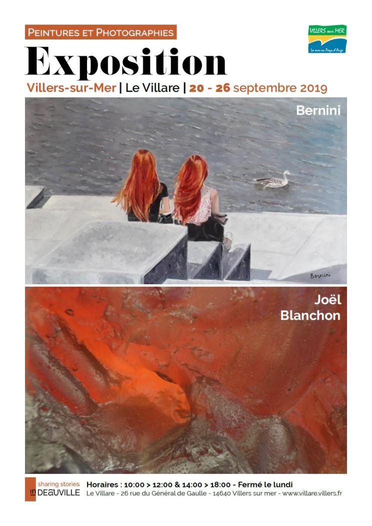Affiche Joël Blanchon et Bernini