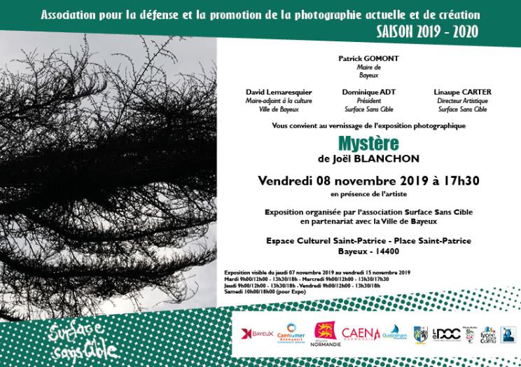 Invitation_Joël BLANCHON_Bayeux_2019