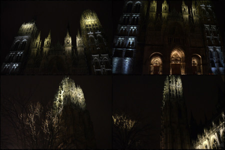 MONTAGE CATHEDRALE 2 ROUEN