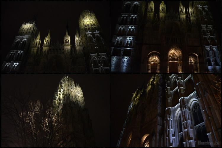 MONTAGE CATHEDRALE 3 ROUEN